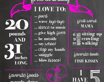 Birthday Poster - Accent Color