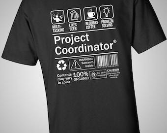 Project Coordinator Funny T-Shirt