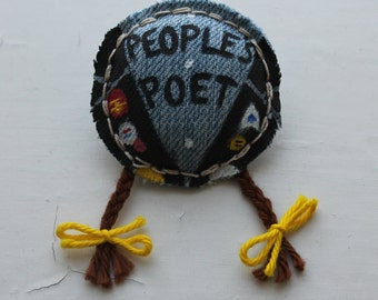 Rick - The Young Ones - Handmade badge/brooch