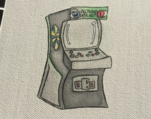 Unique Arcade Cabinet Related Items Etsy