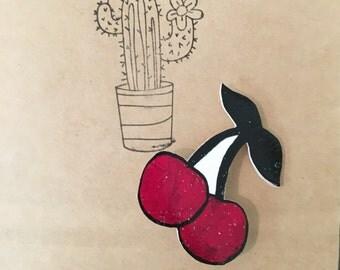 Cherry Bomb Pin