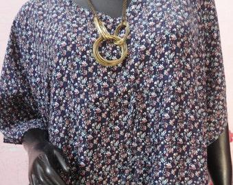 cotton caftan, floral kaftan, cotton kaftan, kaftan dress, plus size kaftan, plus size clothing, floral cotton caftan kaftan plus size dress