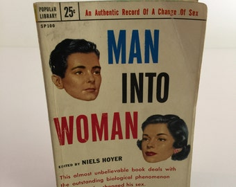 Man Into Woman (Vintage paperback)