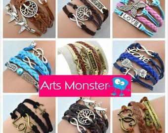 Personalized Inspirational Love Bracelets