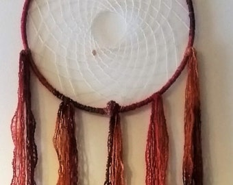 Tones of Orange Dream Catcher