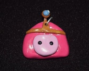 Princess Bubblegum Clay Charm