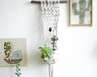 Macrame Planter, Modern Macrame, macrame plant hanger, macrame plant holder, Plant Hanger, boho decor, boho Plant Hanger, plant holder