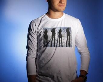 AEDRAN: 'Four' -Graphic Long Sleeve Tshirt