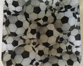 """Soccer 9"""" glass plate"""