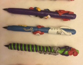 Personalized Polymer Clay Pen