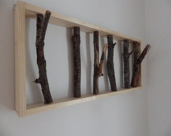Tree Branch Coat Rack