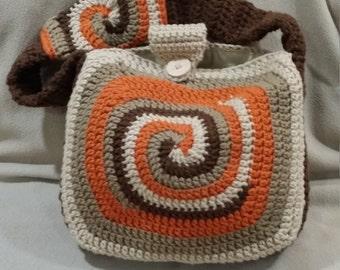 Crochet Sprial Messenger