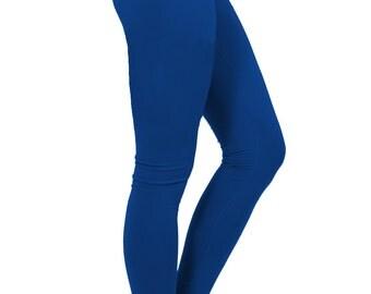 yoga pants women, yoga leggings, yoga clothes, royal blue pants, sapphire pants, blue leggings, yoga tights, yogawear, sapphire blue clothes