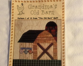 Grandma's Old Barn by The Quilt Company