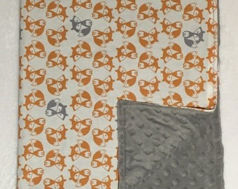 Mr Fox - Blanket