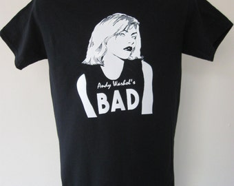 BLONDIE - Debbie Harry PUNK ROCK T-Shirt Hand-Crafted 100% Cotton