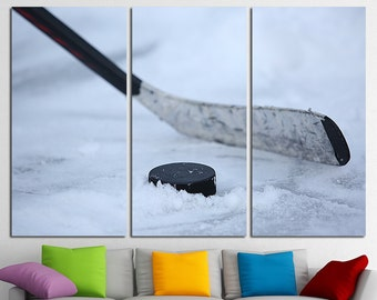 Hockey poster etsy for Ikea glace murale