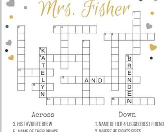 Custom Made Crossword Puzzle Download & Printable