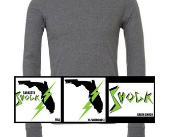 Youth Long Sleeve Tee: 2 colors & 3 Designs