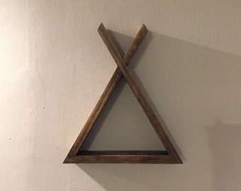 Wooden Teepee shelf| Nursery Decor