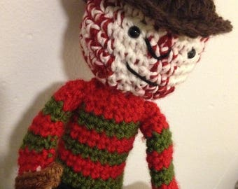 Freddy Krueger Nightmare On Elm Street Amigurumi