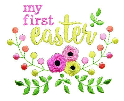My First Easter Embroidery My 1st Easter Embroidery Easter