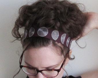 Blood Moon tie-on headband