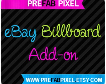 eBay Billboard Banner Add On - Made to Match