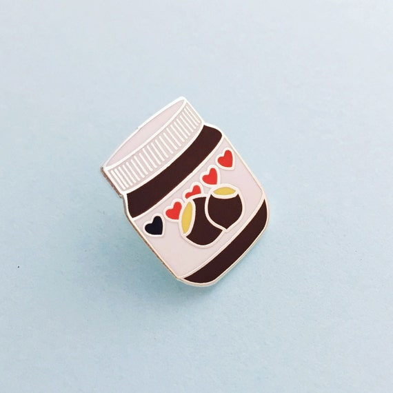 Nutella Enamel Pin Badge Lapel Pin Tie Pin Chocolate