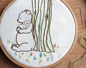 Mother's Love - PDF Hand Embroidery Pattern
