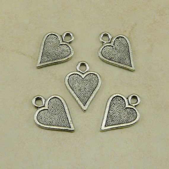 5 Heart Card Symbol Charms Playing Cards Queen of Hearts