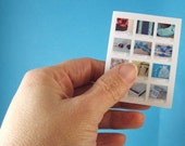 Mini Postcards with Your items - Unique business card, calling card - color laser printing on glossy photo paper - CUSTOMIZED just for you