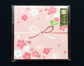 Japanese Envelopes - Cherry Blossom Envelopes - Receipt Envelopes - Packaging - Set of 8
