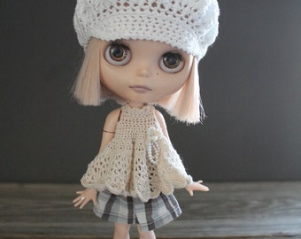 Blythe Crochet Babydoll Mini Dress/Top - Made to Order