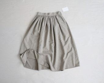 high waist floral skirt | vintage 70s floral skirt