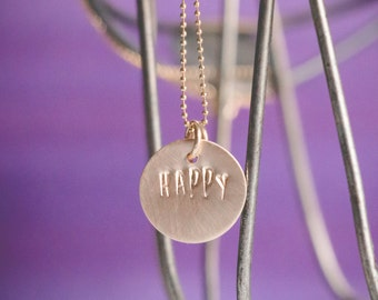 One Little Word Necklace {14k Gold Fill}