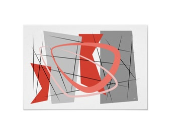 Eye Art Print Modern Abstract in Your Choice of Colors, Sizes and Types of Paper incl Free US Shipping