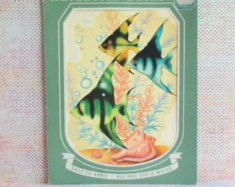 Vintage Meyercord Decal - Tropical Fish - NOS