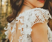 One of a Kind White Lace Short Dress