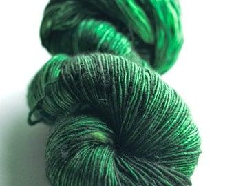 Sydney Singles fingering 100% SW Merino in Melbourne green colorway