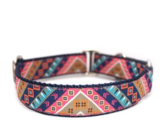 "1"" Dog Collar TriBeCa Buckle or Martingale Collar"