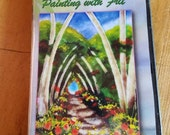 Painting with Frit DVD by Lisa Vogt, Brand New