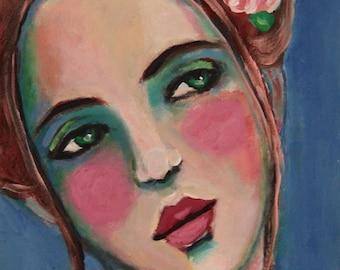 Adalyn - Original Portrait Painting