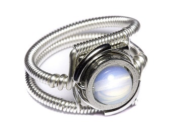 Cyberpunk Jewelry - RING - Opalite