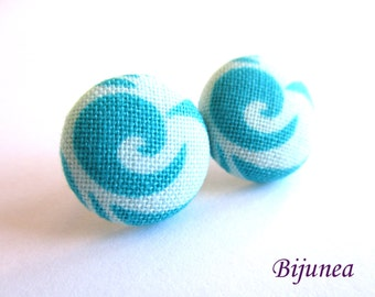 Blue earrings - Turquoise stud earrings - Turquoise posts - Turquoise studs - Blue turquoise post earrings sf1300