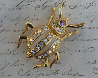 Joan Rivers Bug Brooch