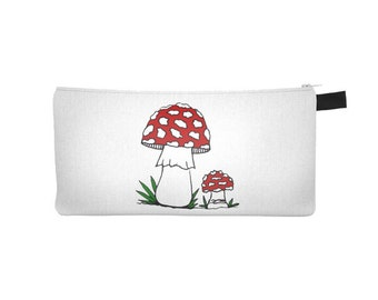 Amanita Muscaria Mushroom Pencil Case