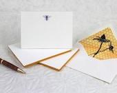 Bee Fancy Pants - Letterpress Notecards