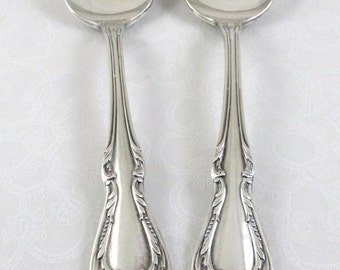 2 Teaspoons - 1958 Chalice pattern - Wm A Rogers/Oneida
