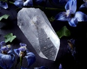 Quartz Crystal Point - Large Lemurian Quartz Crystal - Clear Quartz Point - Large Size Quartz Crystal - Raw Arkansas Quartz Crystal